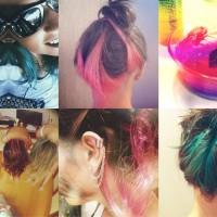 Para Inspirar: Cabelos Coloridos